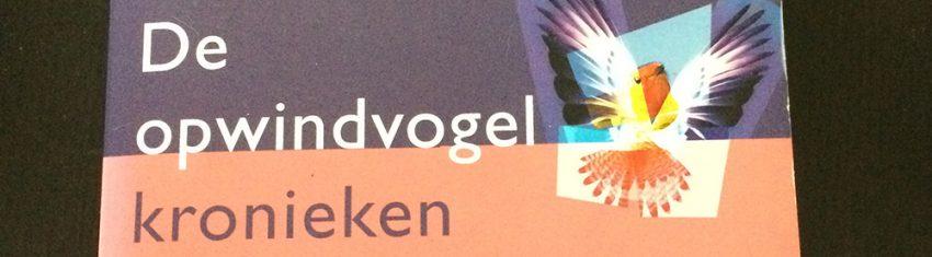 Banner van De opwindvogelkronieken van Haruki Murakami