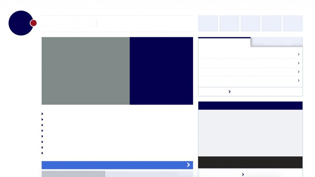 Een website zonder content is erg leeg