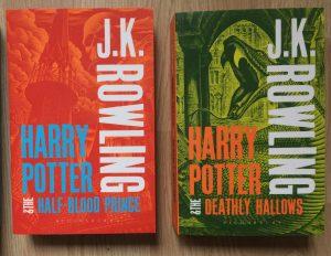 Afbeelding Harry Potter boeken 6 en 7