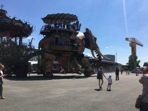 Le Grand Éléphant van Machines de L'Ile in Nantes