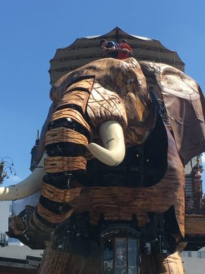 Le Grand Éléphant van Machines de L'Ile in Nantes