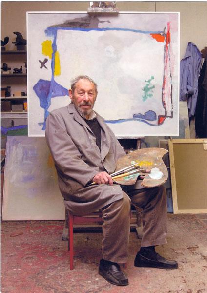 Portret van Piet Schoenmakers