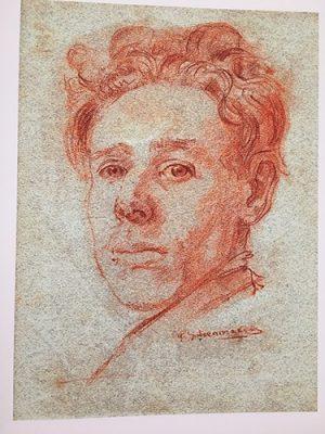 Zelfportret Piet Schoenmakers