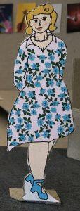 Kostuumontwerp Hilda uit Een Bruid in de Morgen door Laura Schoenmakers