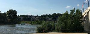 De Franse stad Tours aan de Loire