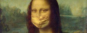 Kunst kijken met een mondkapje