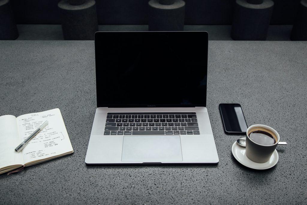 Afbeelding van een laptop